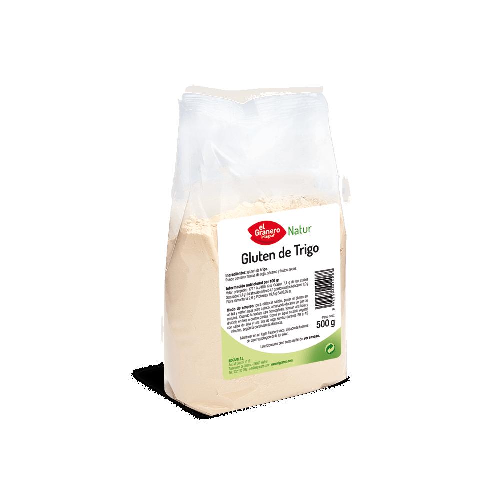 Gluten de Trigro 500 g.- El Granero Integral - tienda vegana online