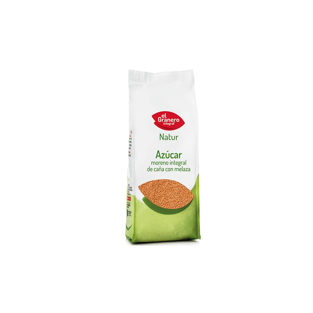 Azúcar moreno integral con melaza 1 Kg. - El Granero Integral - tienda vegana online