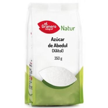Azúcar de Abedul (Xilitol) 350 g. - El Granero Integral - tienda vegana online