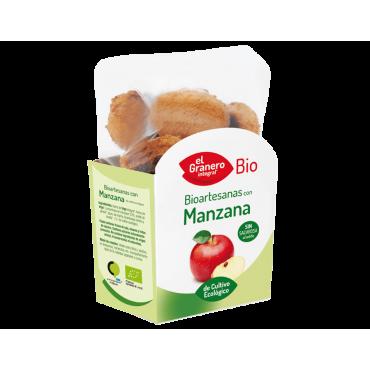 Galletas de manzana bio veganas
