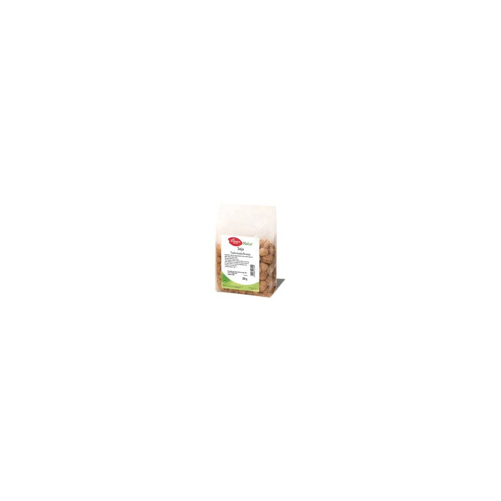 Soja texturizada gruesa 250 g. El Granero Integral - tienda vegana online