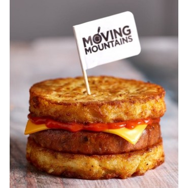 Hamburguesa vegana Pork Burger  de Moving Mountains-  Tienda Vegana Online