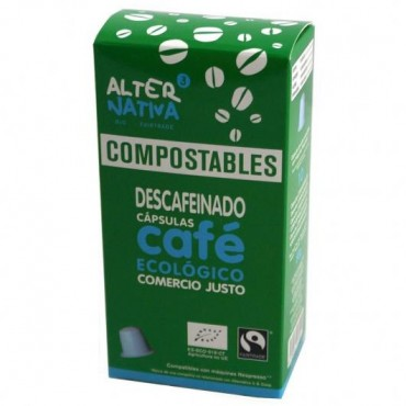 Cápsulas de Café Descafeinado Compostables - Alternativa 3