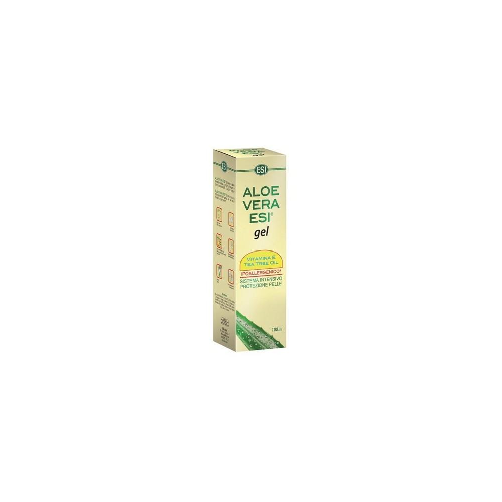 Aloe Vera con Árbol de Té 100 ml. - ESI - tienda vegana online