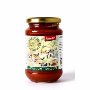 Tomate Frito Ecológico 370 ml- - Cal Valls - tienda vegana online