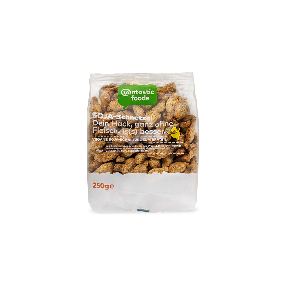 Soja en Porciones 250 gr. - Vantastic Foods - tienda vegana online
