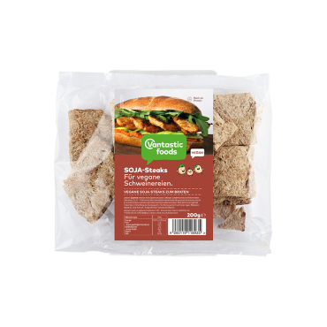 Filetes de Soja 200 grs. - Vantastic Foods - tienda vegana online