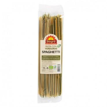 Spaghetti con Verduras 250 grs. - Biográ - tienda vegana online