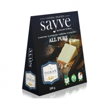 Queso Vegano All Pure 200 grs. - Sayve