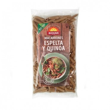 Macarrones de Espelta y Quinoa - Biográ