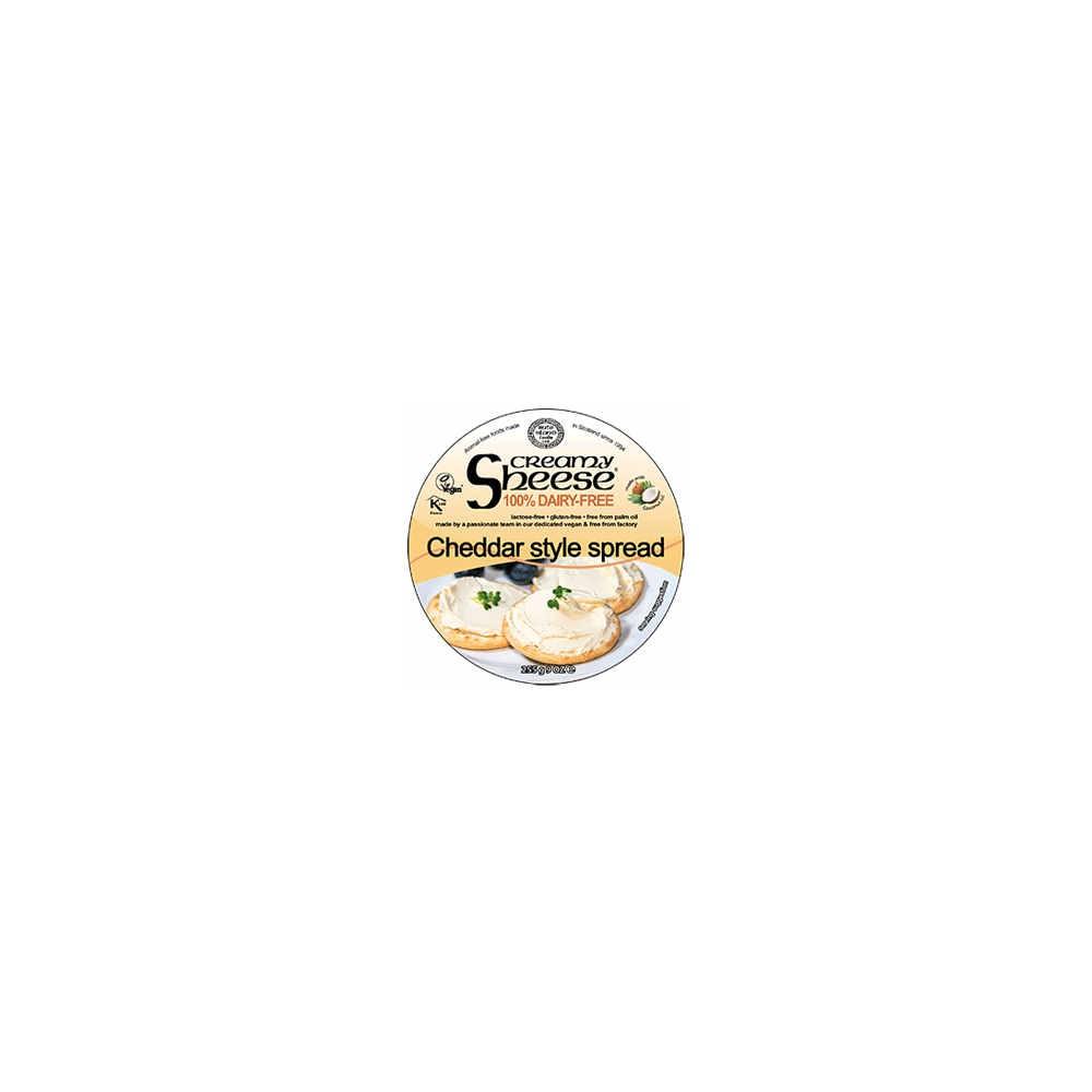 Queso Untable Estilo Cheddar - Sheese - tienda vegana online