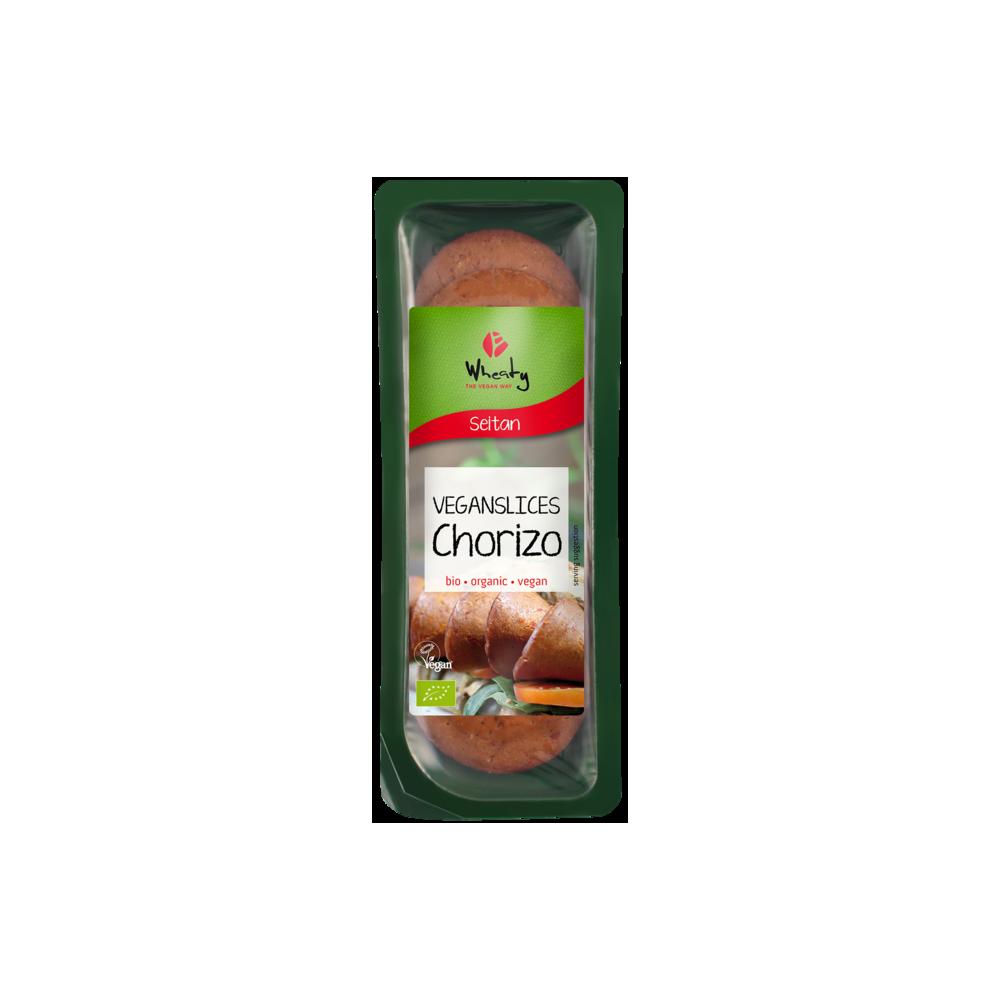 Chorizo vegetal en lonchas - Wheaty - tienda vegana online