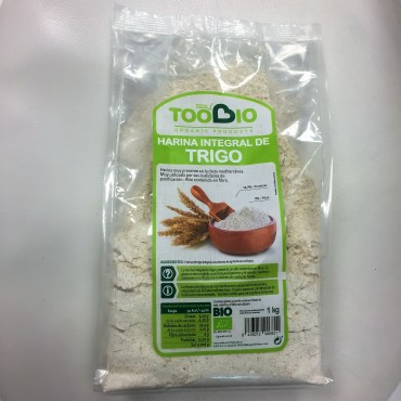 Harina Trigo Integral - Too Bio - tienda vegana online