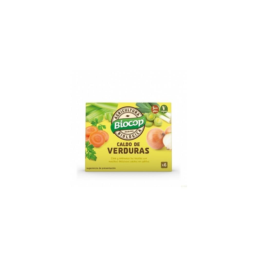 Caldo de Verduras en Pastillas - Biocop - tienda vegana online