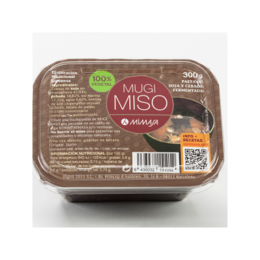 Mugi Miso No Pasteurizado - Mimasa - tienda vegana online