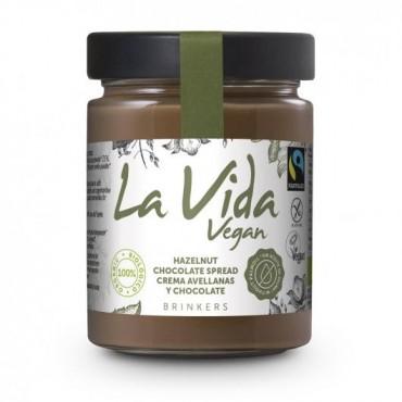 Crema Chocolate y Avellanas 600 grs. - La Vida Vegan - tienda vegana online