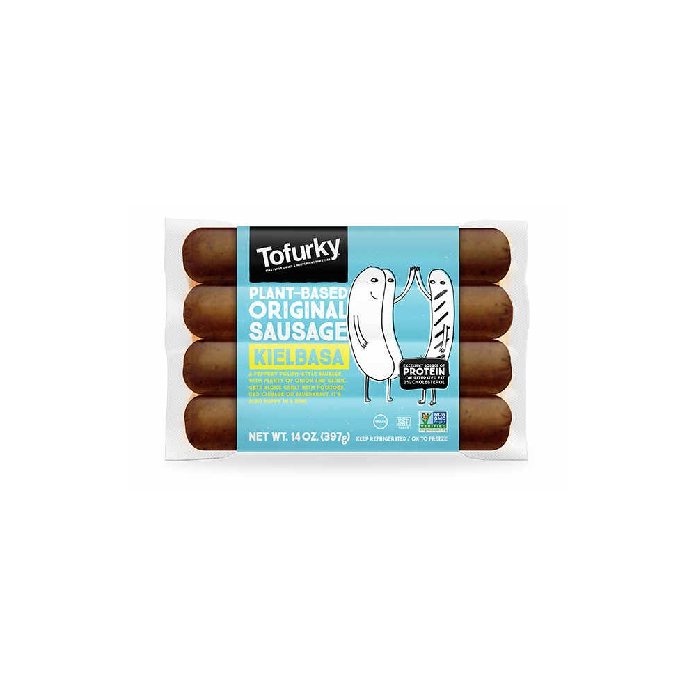 "Salchichas Polacas ""Kielbasa"" - Tofurky - tienda vegana online"