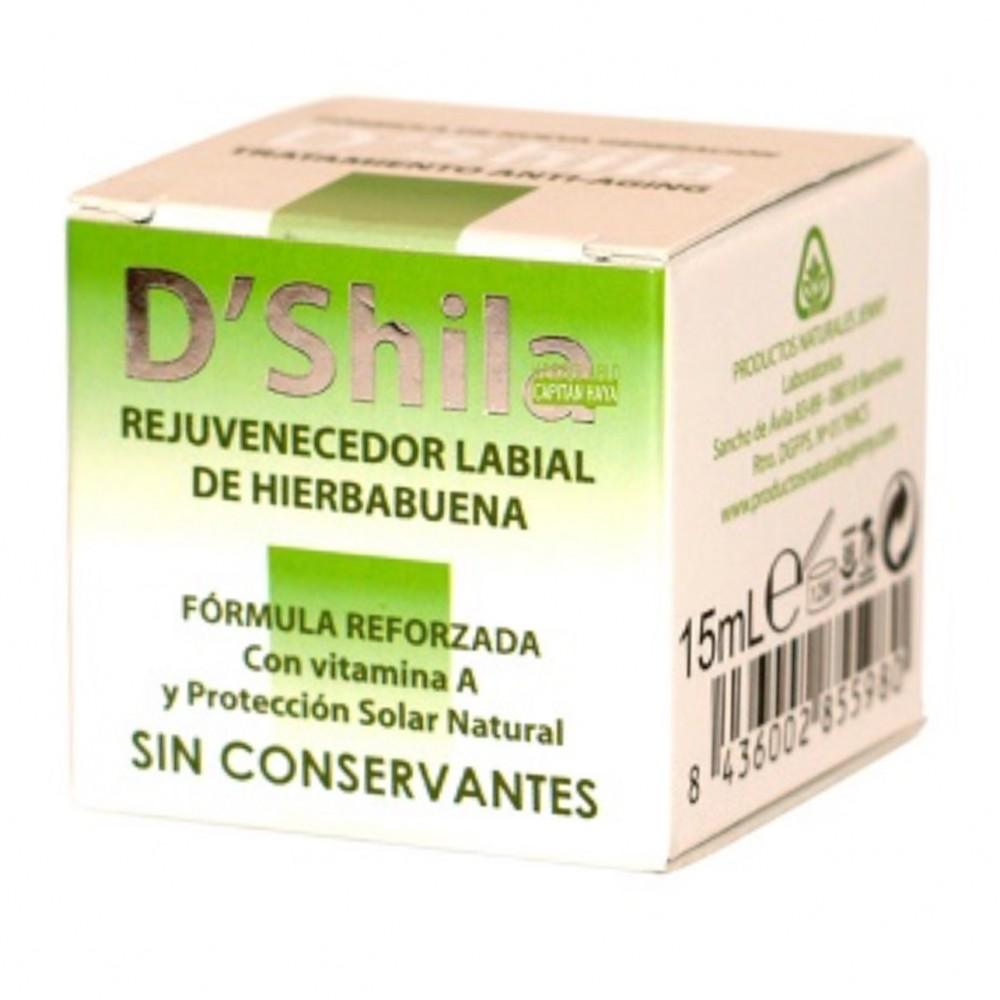 Bálsamo Labial Hierbabuena - D'Shila - tienda vegana online