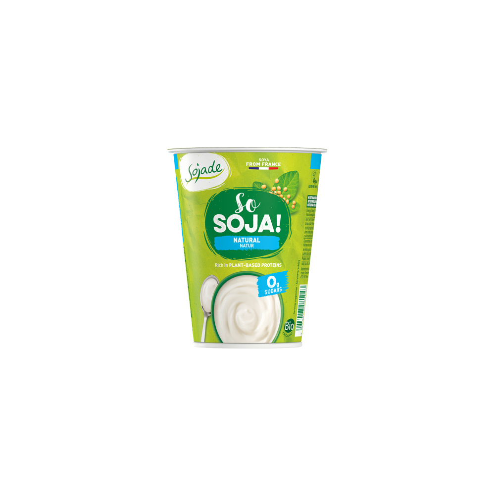 Yogur Soja Natural - Sojade 400 ml. - tienda vegana online