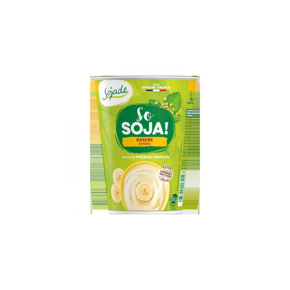 Yogur Soja Plátano - Sojadé 400 ml. - tienda vegana online
