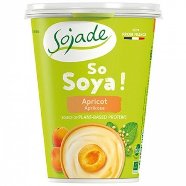 Yogur Soja Albaricoque - Sojade 400 ml.