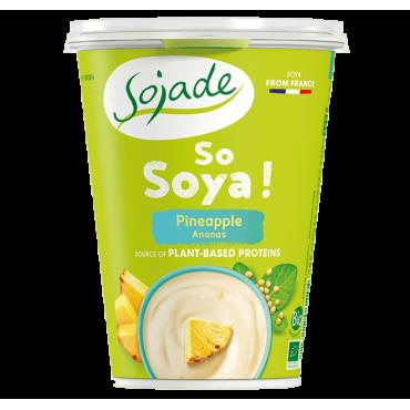Yogur Soja Piña - Sojade 400 ml. - tienda vegana online