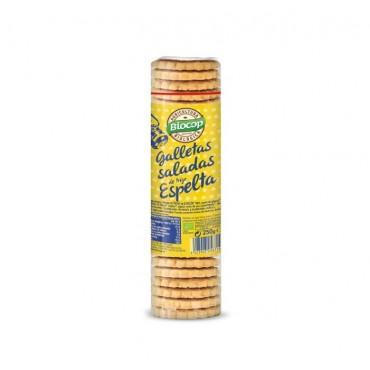 Galletas Saladas de Espelta - Biocop - tienda vegana online
