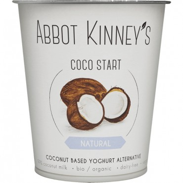 Yogur Coco Natural - Abbot Kinney´s - tienda vegana online