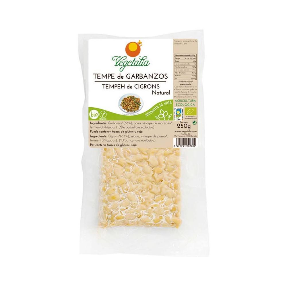 Tempe de Garbanzos 250 g. - Vegetalia - tienda vegana online