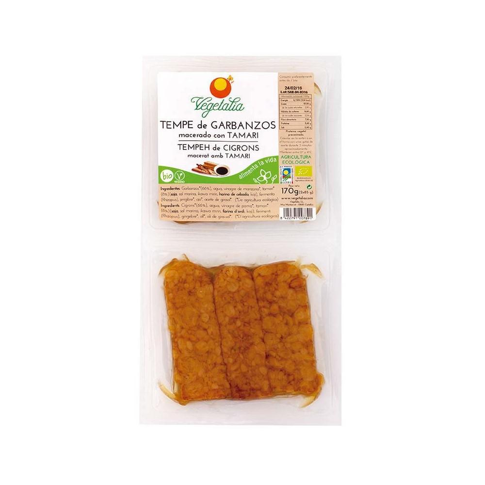Tempe de Garbanzos con Tamari - Vegetalia-  tienda vegana online