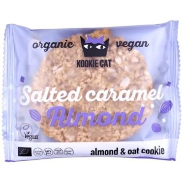 Galleta Almendras Caramelizadas Sin Gluten - Kookie Cat - tienda vegana online