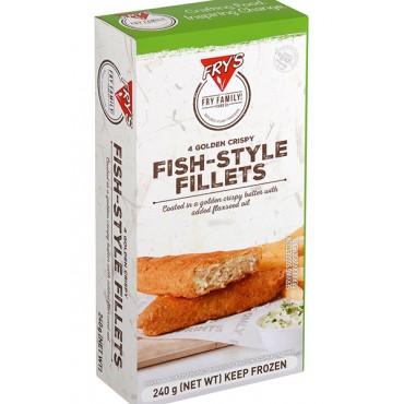 Filetes estilo Pescado en Tempura - Fry´s - tienda vegana online