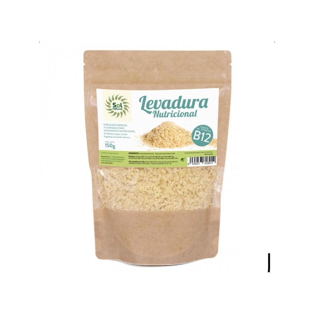 Levadura nutricional con vitamina B12 - Sol Natural - tienda vegana online