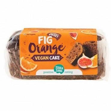 Vegan Cake de Higos y Naranja 350 g. - Terra Sana