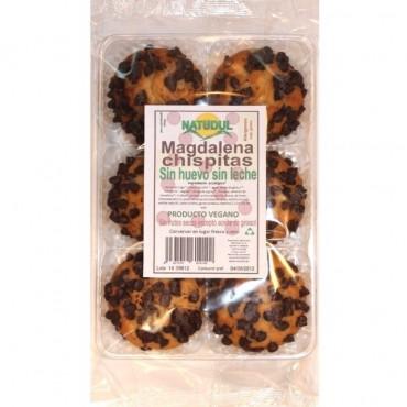 Magdalenas con Pepitas Chocolate - Natudul