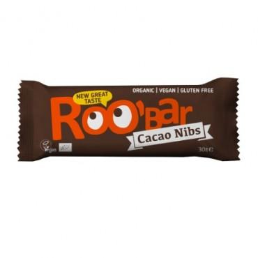 Barrita Raw Cacao y almendras - RooBar
