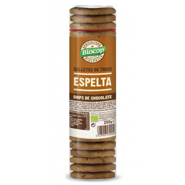 Galletas Espelta Chips Chocolate - Biocop