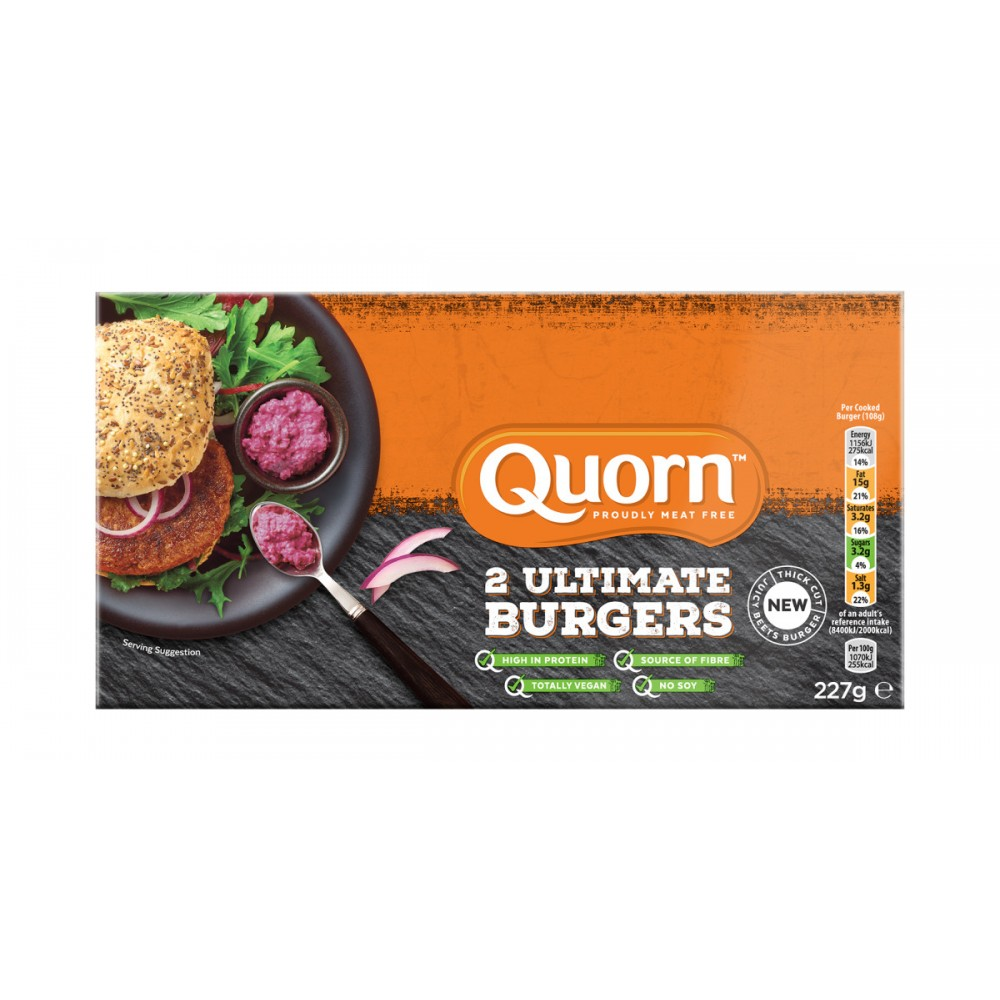 Ultimate Burger - Quorn - tienda vegana online