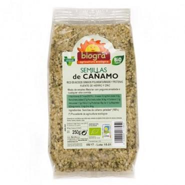 Semillas de Cáñamo Peladas 250 g. - Biográ - tienda vegana online