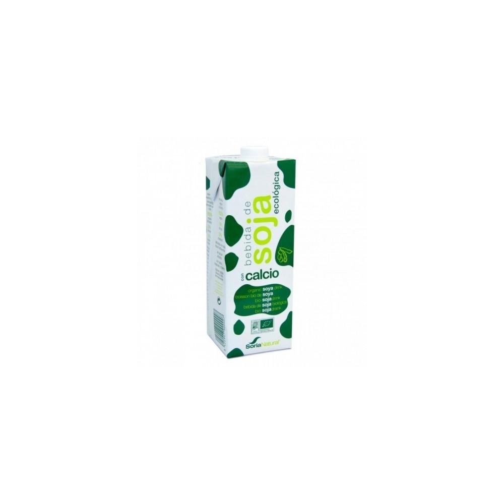 Bebida Soja Calcio 1 L. - Soria Natural - tienda vegana online