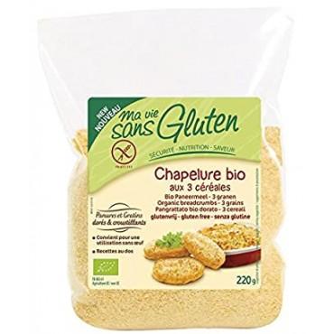 Pan Rallado Sin Gluten 220 g. - Ma vie Sans Gluten- tienda vegana online