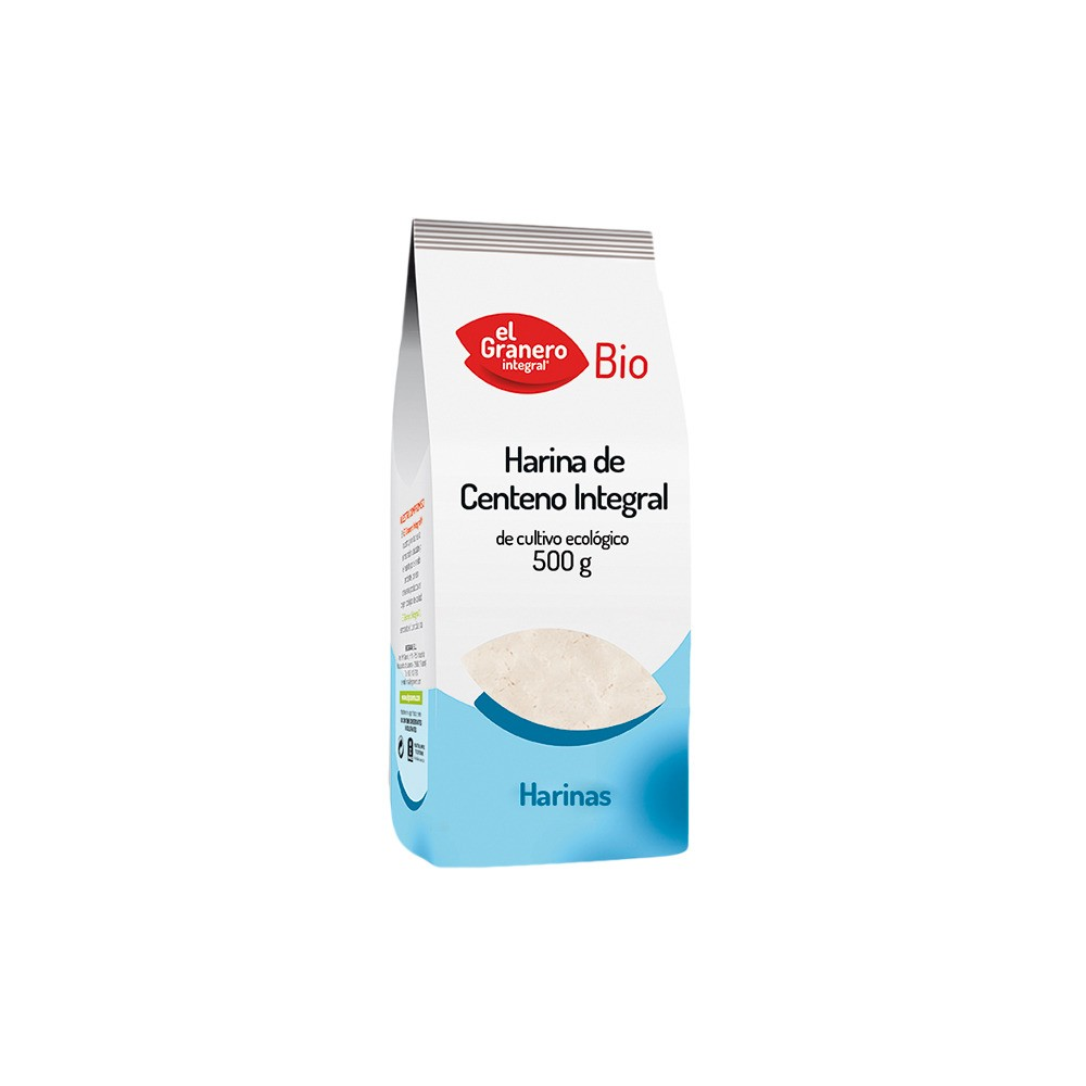 Harina de Centeno Integral 500 g. - El Granero Integral - tienda vegana online