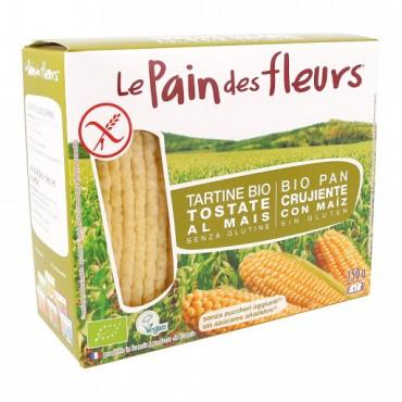 Pan Crujiente con Maíz - Le Pain des Fleurs - tienda vegana online