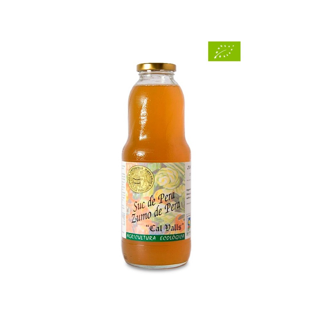 Zumo de Pera 1 litro - Cal Valls - tienda vegana online