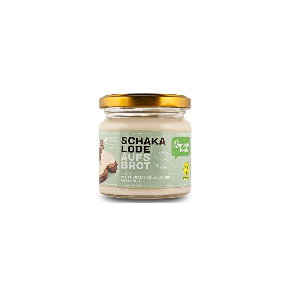 Crema vegana de chocolate blanco de Vantastic Foods- Tienda vegana online