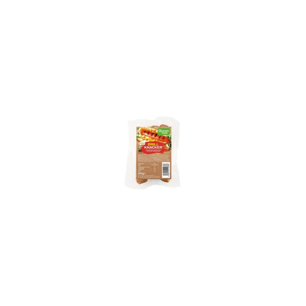 Salchichas rellenas de Queso vegano - Vantastic Foods - tienda vegana online
