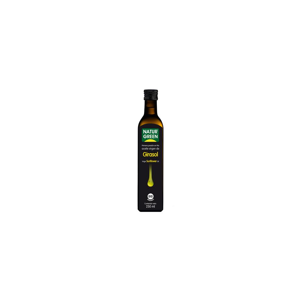 Aceite de Girasol Bio 250 ml. Naturgreen-  tienda vegana online