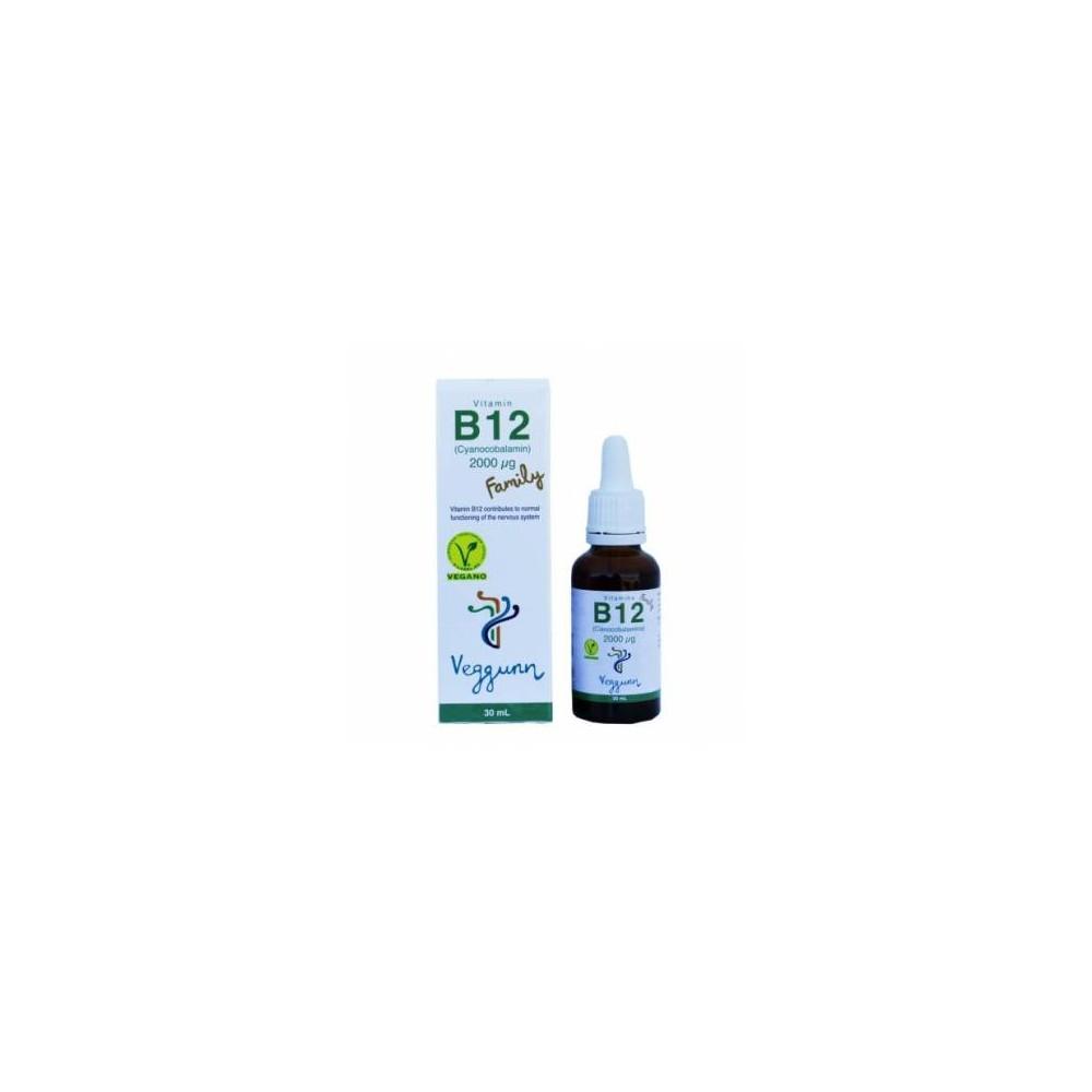 Vitamina B12 Family - Veggunn - tienda vegana online