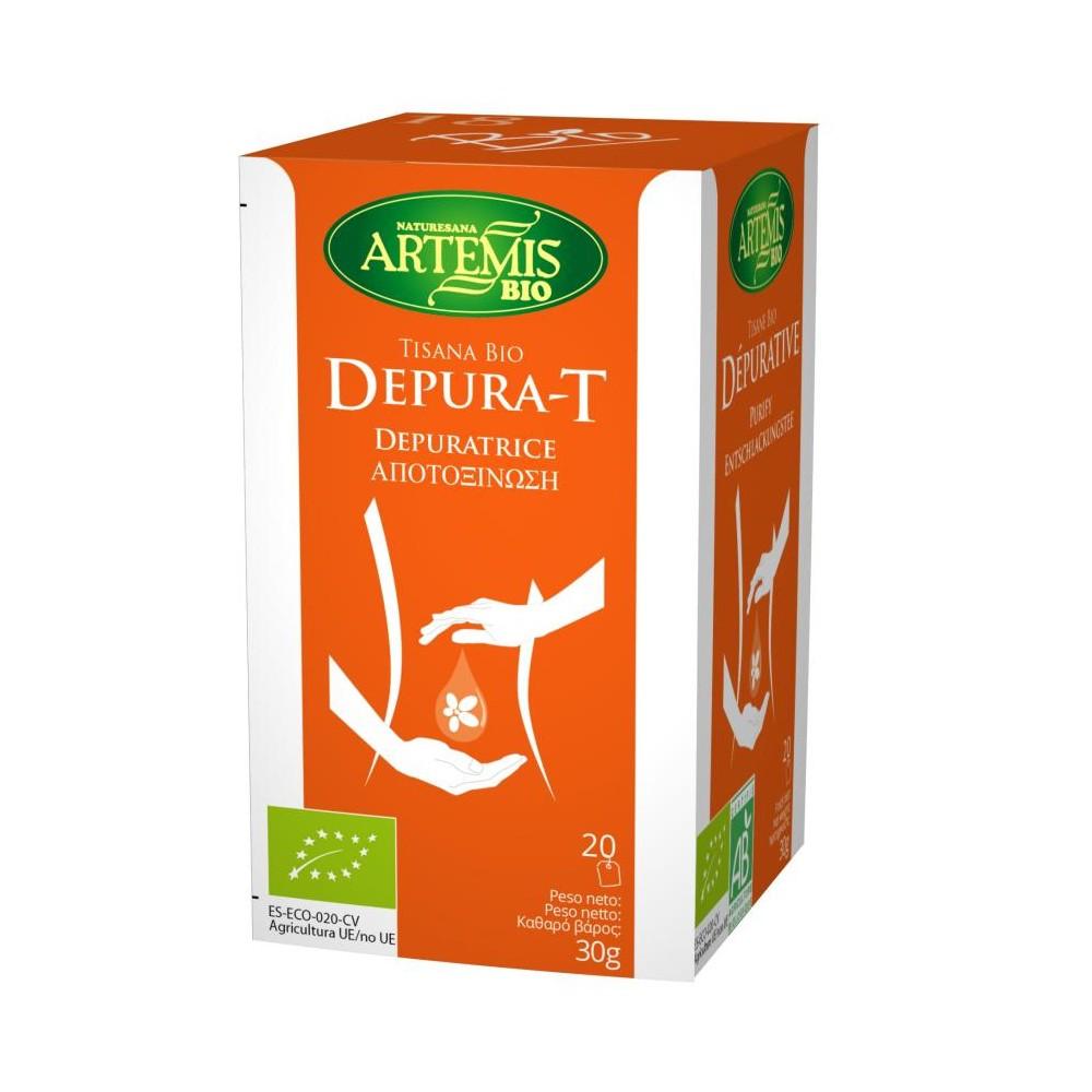 Tisana Bio Depura-T - Artemis - tienda vegana online