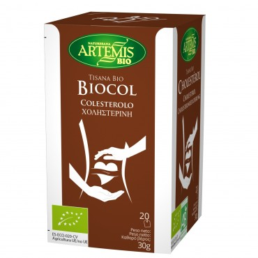 Tisana Bio Colesterol  - Artemis - tienda vegana online